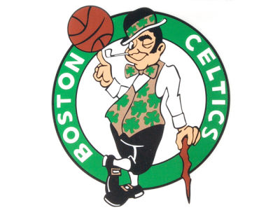 Boston Celtics Static Cling Decal