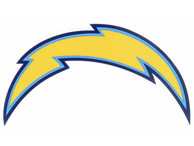 Los Angeles Chargers Static Cling Decal