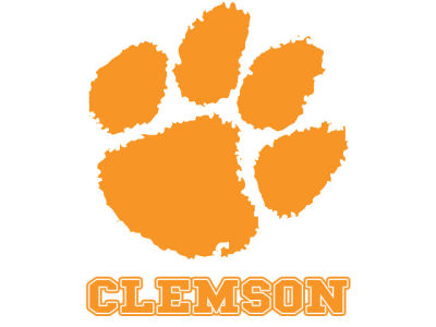 Clemson Tigers Static Cling Decal