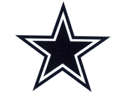 Dallas Cowboys Static Cling Decal