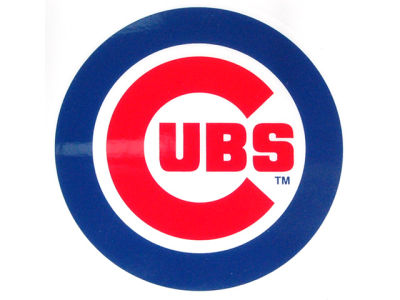Chicago Cubs Static Cling Decal