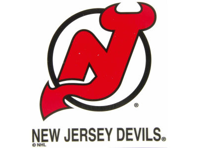 New Jersey Devils Static Cling Decal