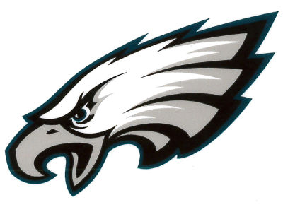 Philadelphia Eagles Static Cling Decal