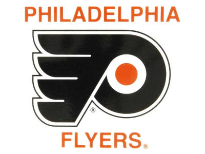 Philadelphia Flyers Static Cling Decal