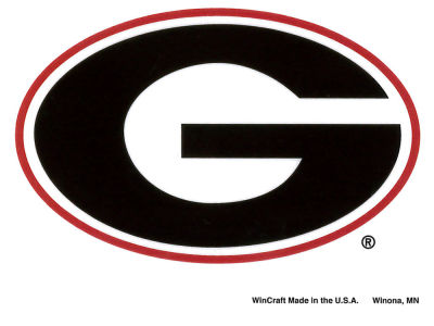 Georgia Bulldogs Static Cling Decal