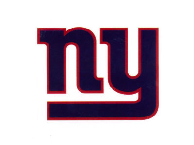 New York Giants Static Cling Decal