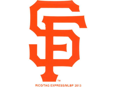 San Francisco Giants Static Cling Decal