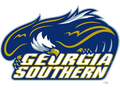 Georgia Southern Eagles Static Cling Decal