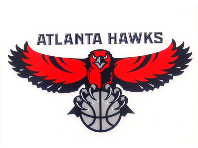 Atlanta Hawks Static Cling Decal