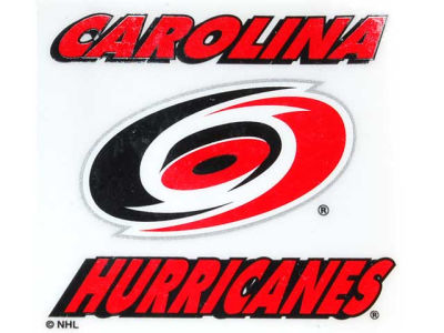 Carolina Hurricanes Static Cling Decal