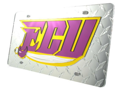 East Carolina Pirates Diamond Acrylic Laser Tag