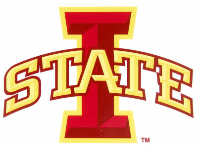 Iowa State Cyclones Static Cling Decal