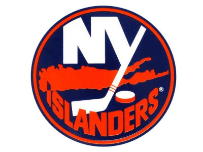 New York Islanders Static Cling Decal