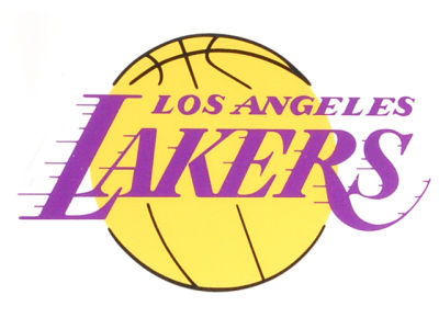 Los Angeles Lakers Static Cling Decal