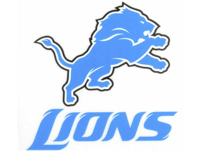 Detroit Lions Static Cling Decal