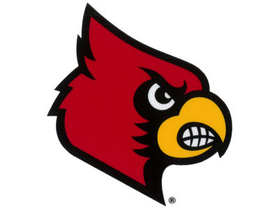 Louisville Cardinals Static Cling Decal
