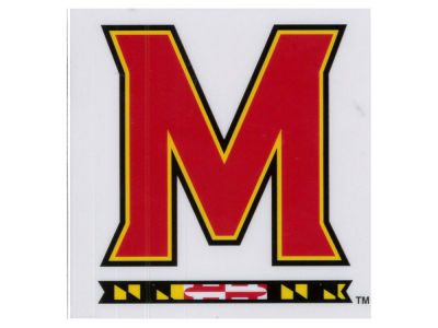 Maryland Terrapins Static Cling Decal