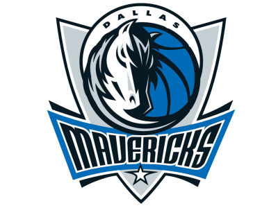 Dallas Mavericks Static Cling Decal