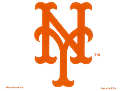 New York Mets Static Cling Decal