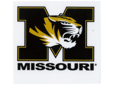 Missouri Tigers Static Cling Decal