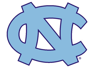North Carolina Tar Heels Static Cling Decal