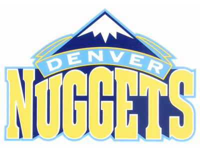 Denver Nuggets Static Cling Decal