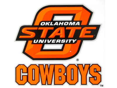 Oklahoma State Cowboys Static Cling Decal