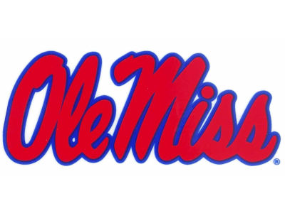 Ole Miss Rebels Static Cling Decal