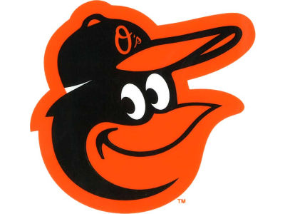 Baltimore Orioles Static Cling Decal