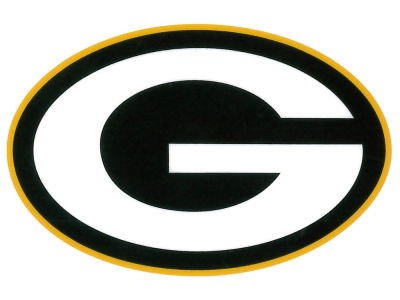 Green Bay Packers Static Cling Decal