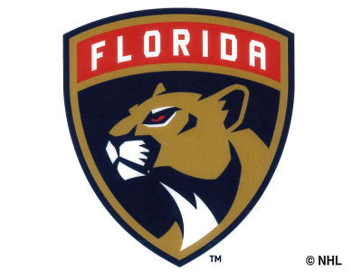 Florida Panthers Static Cling Decal