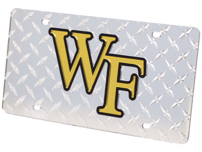 Wake Forest Demon Deacons Diamond Acrylic Laser Tag