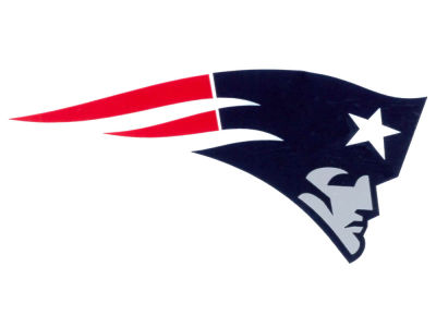 New England Patriots Static Cling Decal