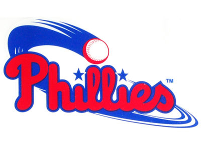 Philadelphia Phillies Static Cling Decal