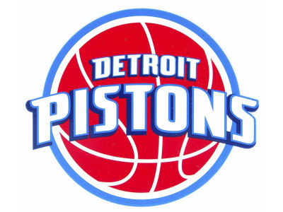 Detroit Pistons Static Cling Decal
