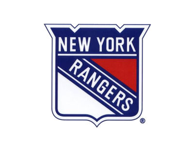 New York Rangers Static Cling Decal