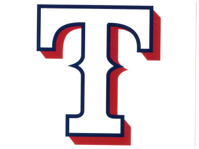Texas Rangers Static Cling Decal