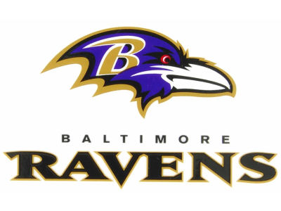 Baltimore Ravens Static Cling Decal