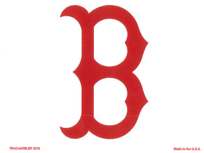 Boston Red Sox Static Cling Decal