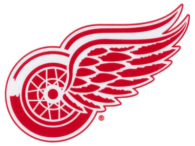 Detroit Red Wings Static Cling Decal