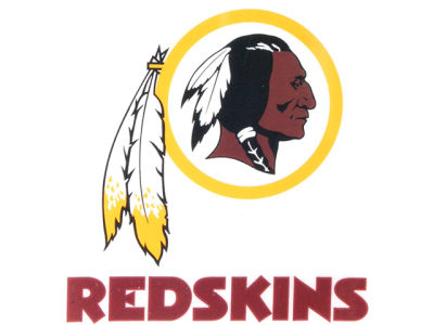 Washington Redskins Static Cling Decal
