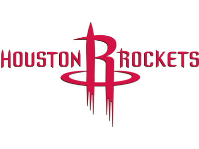 Houston Rockets Static Cling Decal