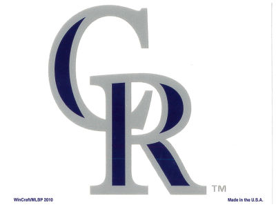 Colorado Rockies Static Cling Decal