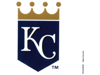 Kansas City Royals Static Cling Decal