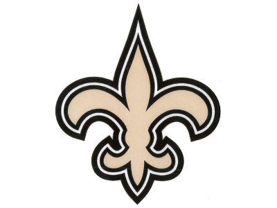 New Orleans Saints Static Cling Decal