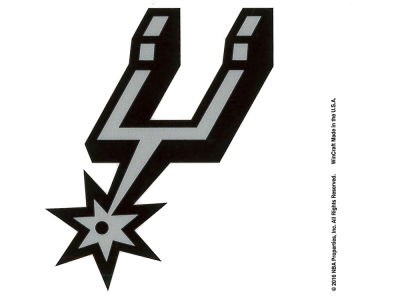 San Antonio Spurs Static Cling Decal