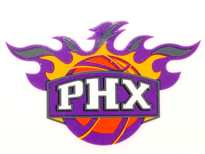 Phoenix Suns Static Cling Decal