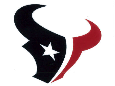 Houston Texans Static Cling Decal