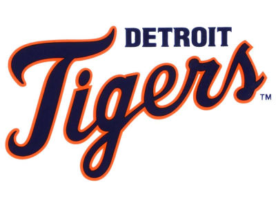 Detroit Tigers Static Cling Decal