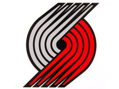 Portland Trail Blazers Static Cling Decal